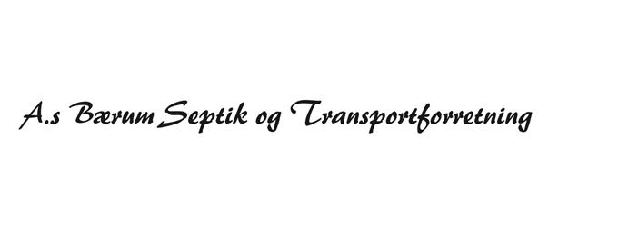Bærum Septik og Transportforretning