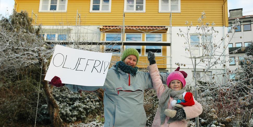Tonje, Ingeborg og resten av familien erstattet oljefyren og ble Oljefri!