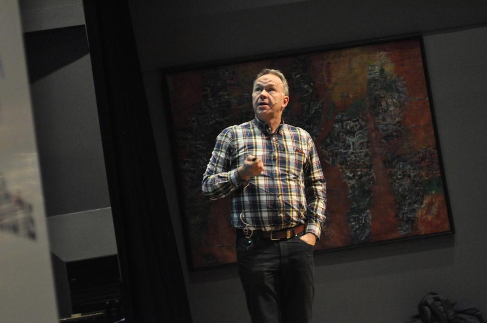 Foredragsholder Knut Olav knudsen