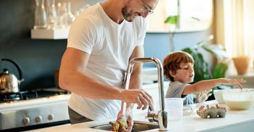 det er energismart å spare på varmtvannet