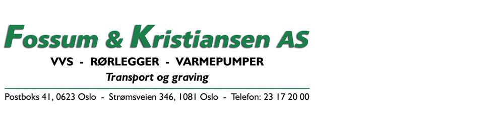 Fossum & Kristiansen