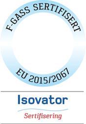 f-gass sertifisering